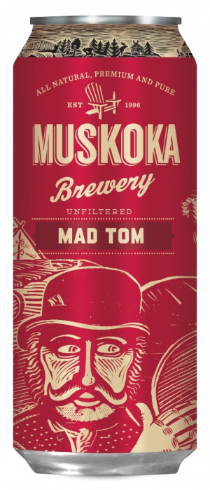 Mad Tom IPA by Muskoka Brewery in Ontario, Canada