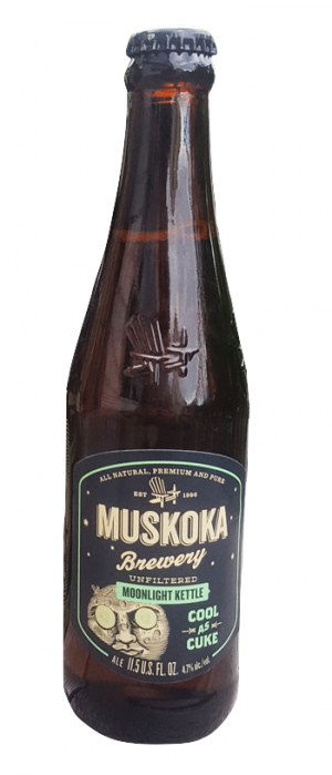 Moonlight Kettle Cool as Cuke by Muskoka Brewery in Ontario, Canada