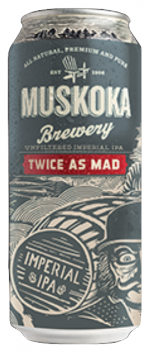 Twice As Mad by Muskoka Brewery in Ontario, Canada
