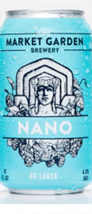 Nano OG Lager by Market Garden Brewery in Ohio, United States