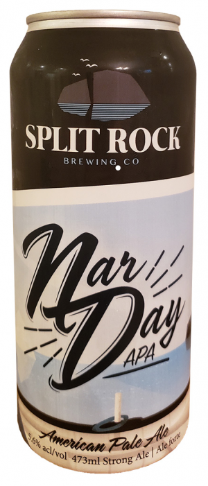 Nar Day APA by Split Rock Brewing Co. in Newfoundland and Labrador, Canada