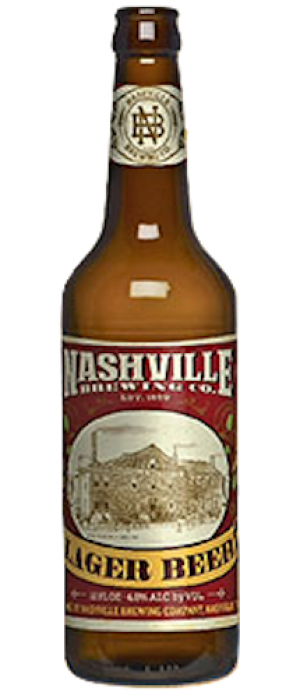 Nashville Original Lager by Nashville Brewing Company in Tennessee, United States