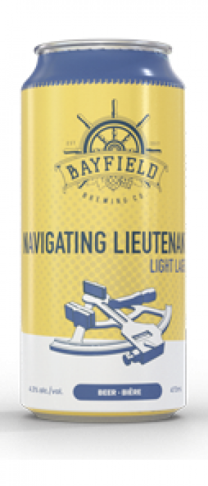 Navigating Lieutenant by Bayfield Brewing Company in Ontario, Canada