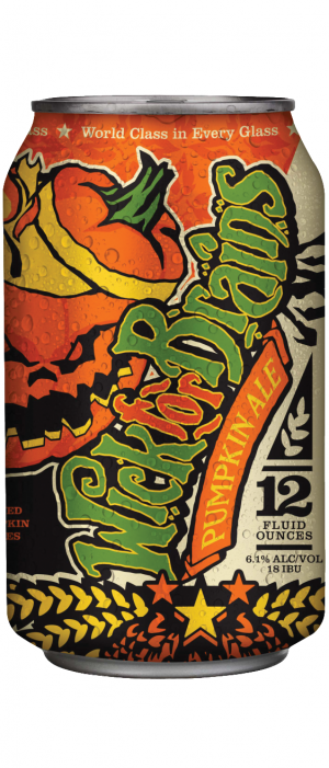 Wick For Brains Pumpkin Ale by Nebraska Brewing Company in Nebraska, United States