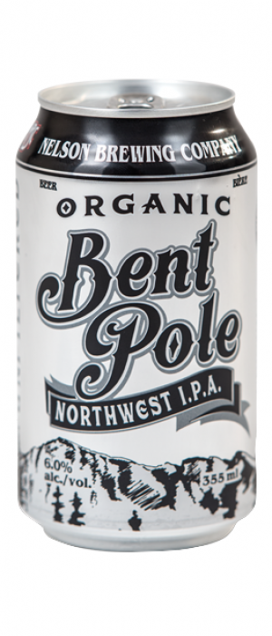 Bent Pole Unfiltered IPA by Nelson Brewing Company in British Columbia, Canada