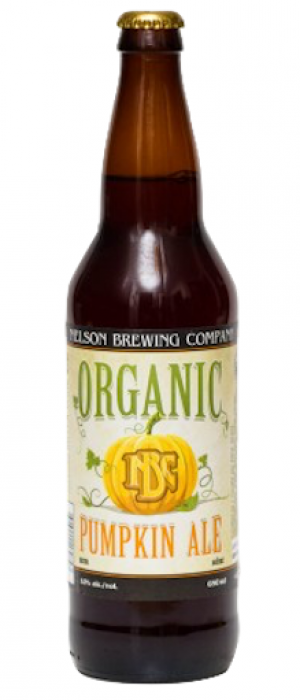 Organic Pumpkin Ale by Nelson Brewing Company in British Columbia, Canada