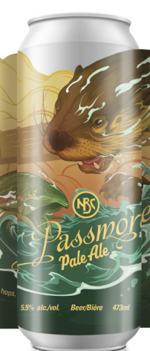 Passmore Pale Ale by Nelson Brewing Company in British Columbia, Canada