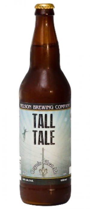Tall Tale Organic Wheat Ale by Nelson Brewing Company in British Columbia, Canada