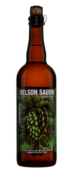 Nelson Sauvin Saison with Brett by Anchorage Brewing Company in Alaska, United States