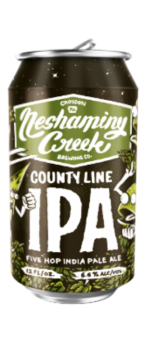 County Line IPA by Neshaminy Creek Brewing Company in Pennsylvania, United States
