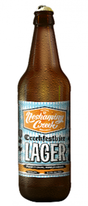 Creekfestbier Lager by Neshaminy Creek Brewing Company in Pennsylvania, United States