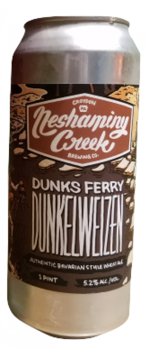 Dunks Ferry Dunkelweizen by Neshaminy Creek Brewing Company in Pennsylvania, United States
