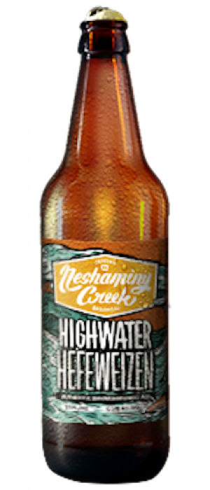 Highwater Hefeweizen by Neshaminy Creek Brewing Company in Pennsylvania, United States