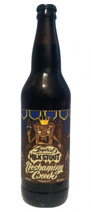 Imperial Chocolate Mudbank Milk Stout by Neshaminy Creek Brewing Company in Pennsylvania, United States