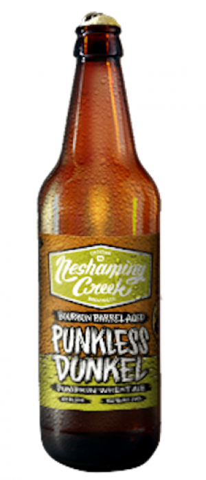 Punkless Dunkel Pumpkin Wheat Ale by Neshaminy Creek Brewing Company in Pennsylvania, United States