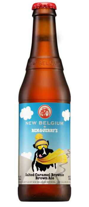 Ben & Jerry's Salted Caramel Brownie by New Belgium Brewing Company in Colorado, United States