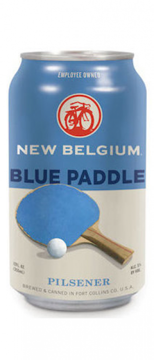 Blue Paddle by New Belgium Brewing Company in Colorado, United States