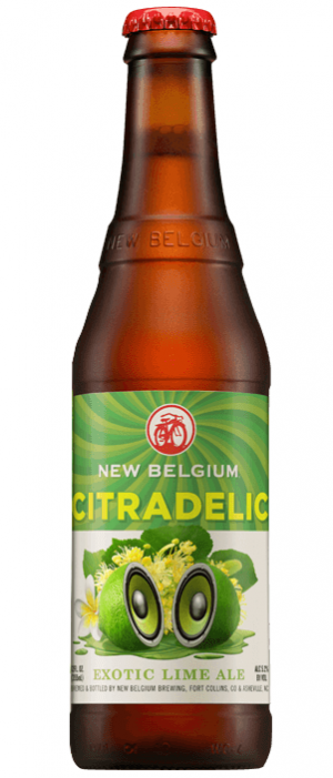 Citradelic Exotic Lime Ale by New Belgium Brewing Company in Colorado, United States
