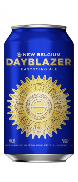 Dayblazer Easygoing Ale by New Belgium Brewing Company in Colorado, United States