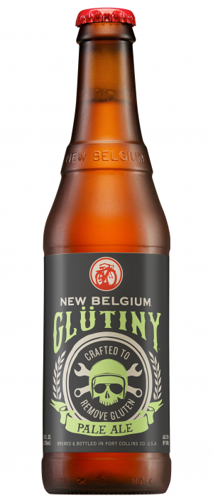 Glütiny Pale Ale by New Belgium Brewing Company in Colorado, United States