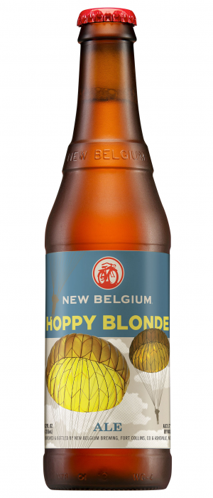 Hoppy Blonde by New Belgium Brewing Company in Colorado, United States