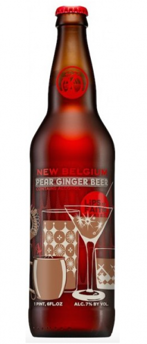 Pear Ginger Beer by New Belgium Brewing Company in Colorado, United States