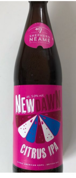 New Dawn Citrus Ale by Shepherd Neame in Kent - England, United Kingdom