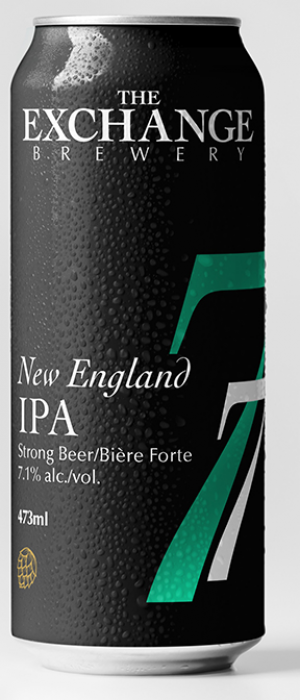 New England IPA by The Exchange Brewery in Ontario, Canada