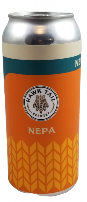 New England Pale Ale by Hawk Tail Brewery in Alberta, Canada