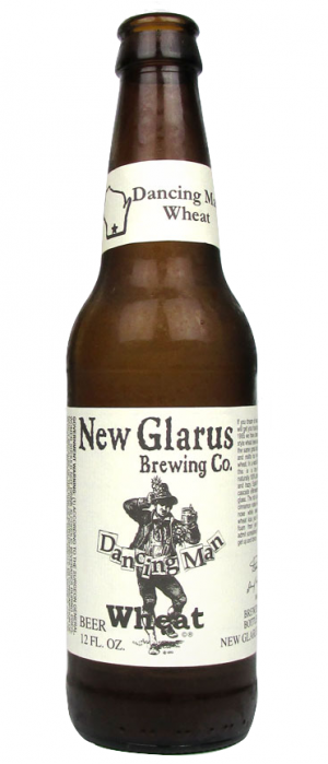 Dancing Man Wheat by New Glarus Brewing Co. in Wisconsin, United States