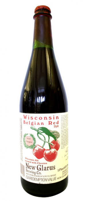 Wisconsin Belgian Red by New Glarus Brewing Co. in Wisconsin, United States