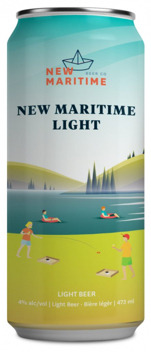 New Maritime Light by New Maritime Beer Co. in New Brunswick, Canada