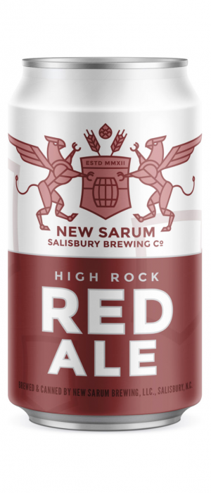 High Rock Red Ale by New Sarum Brewing in North Carolina, United States