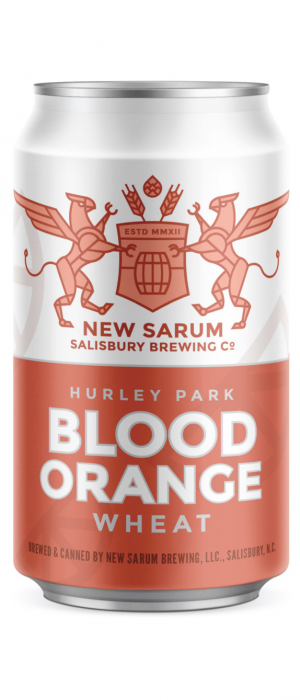 Hurley Park Blood Orange Wheat by New Sarum Brewing in North Carolina, United States