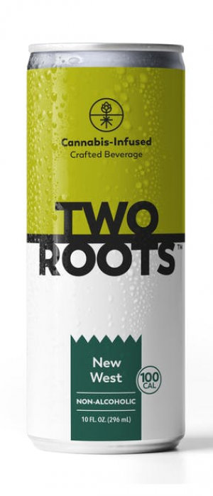 New West THC-Infused IPA by Two Roots Brewing in California, United States