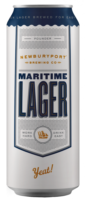 Maritime Lager by Newburyport Brewing Company in Massachusetts, United States