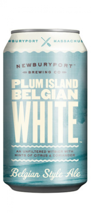 Plum Island Belgian White by Newburyport Brewing Company in Massachusetts, United States