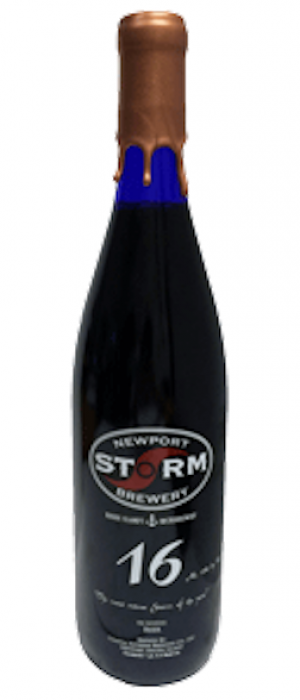 Annual Release '16 by Newport Storm Brewery in Rhode Island, United States