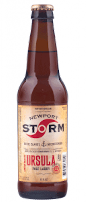 Cyclone Series Ursula: Pale Lager by Newport Storm Brewery in Rhode Island, United States