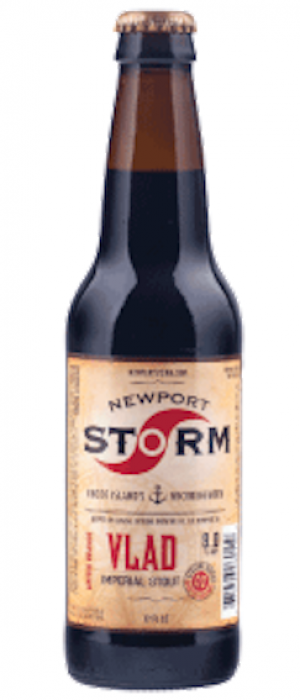 Cyclone Vlad: Russian Imperial Stout by Newport Storm Brewery in Rhode Island, United States