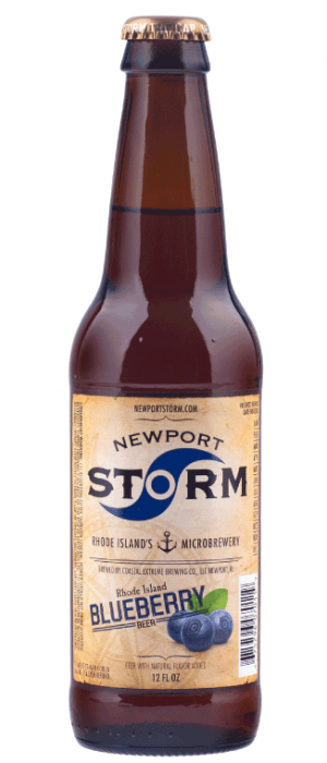 Rhode Island Blueberry Ale by Newport Storm Brewery in Rhode Island, United States