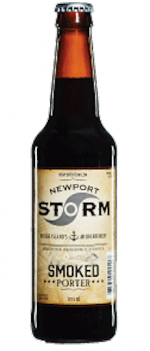 Smoked Porter by Newport Storm Brewery in Rhode Island, United States