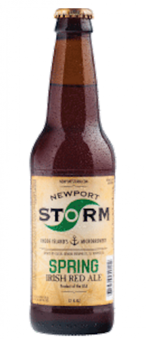 Spring Irish Red Ale by Newport Storm Brewery in Rhode Island, United States