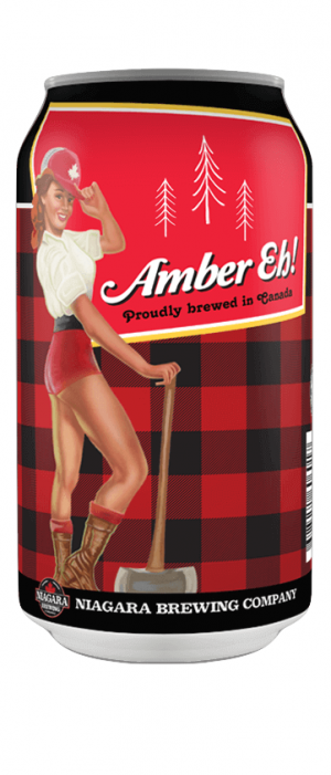 Amber Eh! by Niagara Brewing Company in Ontario, Canada