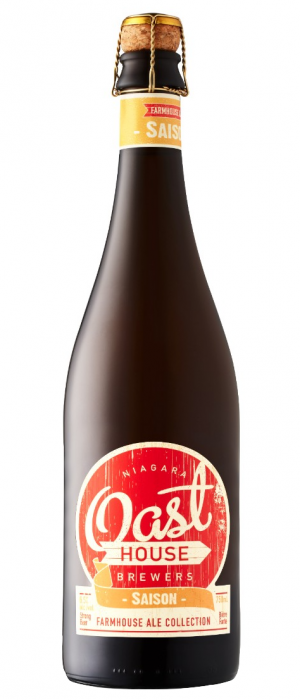 Saison by Niagara Oast House Brewers in Ontario, Canada