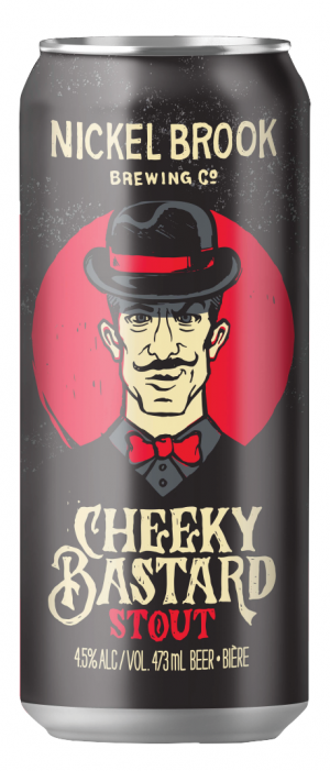 Cheeky Bastard Stout by Nickel Brook Brewing Company in Ontario, Canada