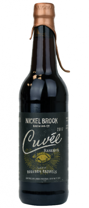 Cuvee Bourbon Barrel Aged Spiced Ale by Nickel Brook Brewing Company in Ontario, Canada
