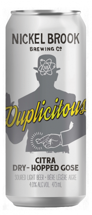Duplicitous by Nickel Brook Brewing Company in Ontario, Canada