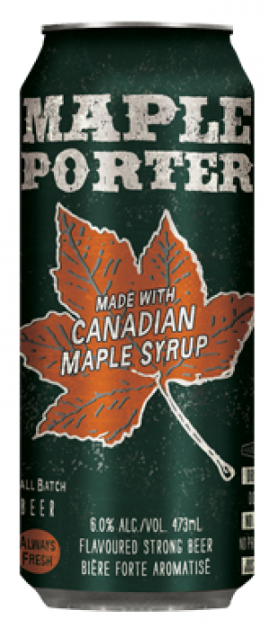 Maple Porter by Nickel Brook Brewing Company in Ontario, Canada