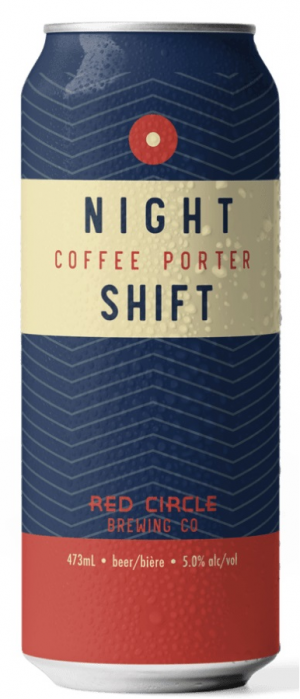 Night Shift Coffee Porter by Red Circle Brewing & Coffee in Ontario, Canada